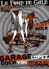 """3 octobre 2015 Garage Lopez, Duck You Sucker à Clohars Carnoet """"le Fond de Cale"""""""