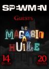 """14 octobre 2016 The Spewmen à Coueron """"Magasin à Huile"""" - Annulé"""
