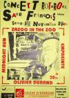 "20 novembre 1993 Zazoo In The Zoo, Empreinte, Olivier Durand, Midnight Run au Havre ""Salle François 1er"""