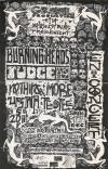 "17 decembre 1994 (?) Burning Heads, Judge AK47, Nothing More, Upstair People à Saint Denis ""MJC"""