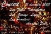 """21 decembre 2008 The Flying Tartiflettes, Garage Lopez, les Prouters à Bagnolet """"Le Pixi"""""""
