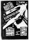 """11 février 1987 Ludwig Von 88, Babylon Fighters à Ivry """"Au Parc"""""""