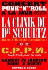 """19 janvier 2008 La Clinik du Dr Schultz, CPPN à Paris """"Java"""""""