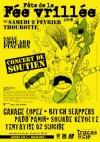 """9 fevrier 2008 Garage Lopez, Bitch Slappers, Padd Panik, Sourde Revolte, Tentative 02 Suicide à Thourotte """"Salle Edouard Pinchon"""""""