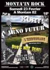 23 février 2019 Kurt, Arno Futur, L'Embuscade Master Pills, Bob's Not Dead, Delit de Sale Gueule à Montain