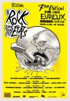 "28 avril 1990 Mi Chats Mi Souris, Los Mescaleros, The Kingsnakes à Evreux ""L'Abordage"""