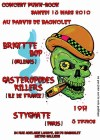 """13 mars 2010 Brigitte Bop, Gasteropodes Killers, Stygmate à Bagnolet """"Parvis de Bagnolet"""""""