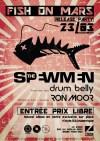 "23 mars 2018 The Spewmen, Drum Belly, Ron Moor à Montaigu ""Le Zinor"""