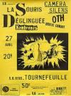 """27 avril 1985 La Souris Déglinguée (annulé), Camera Silens, Trotskids, Kambrones, O.T.H. Brutal Combat, Carbone 14 à Tournefeuille """"salle des Fêtes"""""""