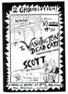 """30 avril 1986 Washington Dead Cats, Scott à Paris """"le Berry"""""""
