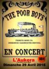 "29 avril 2018 The Poor Boys à Blois ""Aukera"""