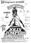 "9 mai ? Sadicomix, Jolly Jumpers à Epinay Sur Seine ""MJC d'Orgemont"""
