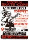 """30 mai 1992 (?) Gorefest, les Rats, les Gnomes, Raymonde et ses Blancs Becs, Madhouse, Afuckalypse Now à Versailles """"Skate Park"""""""
