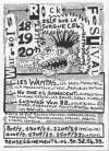 18 juillet 1997 Rachid et les Ratons, L'oeil, La Machination, Les Sales Majestés, les Wampas à l'Isle sur la Sorgue