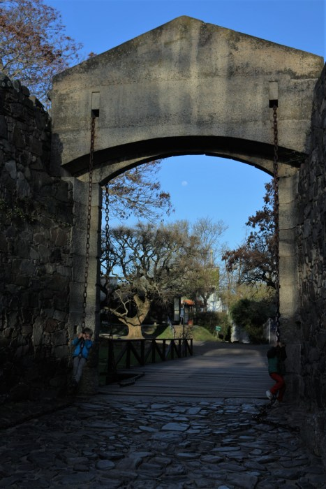 Puerta de Campo - face: côté lune