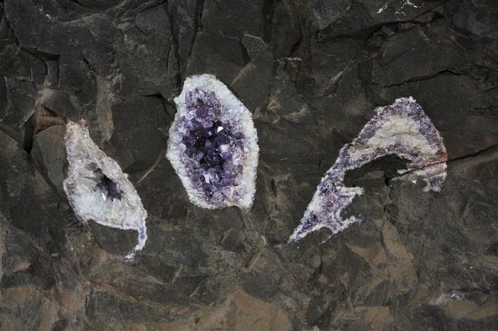 restes de géodes