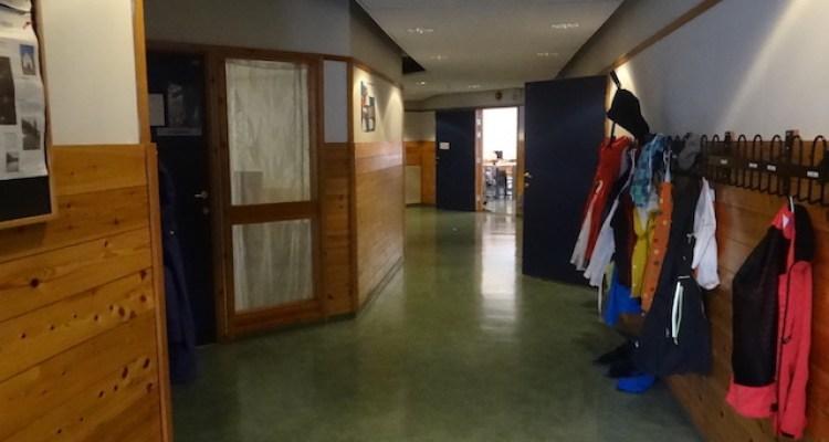 Couloir de l'école Saint Paul à BERGEN