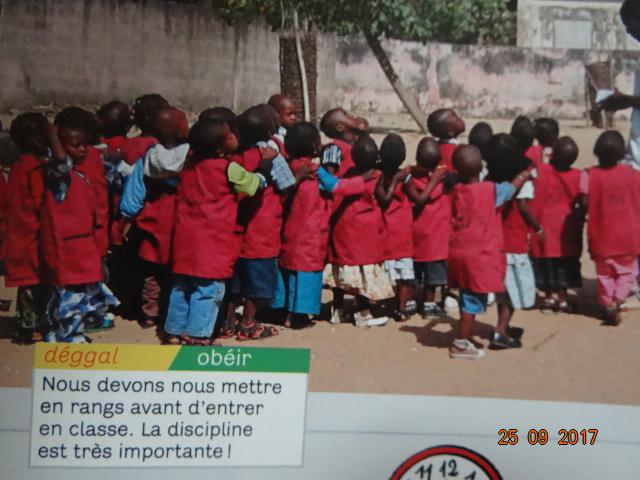 Les élèves au Sénégal