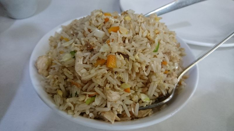 Manger en Inde - fried rice
