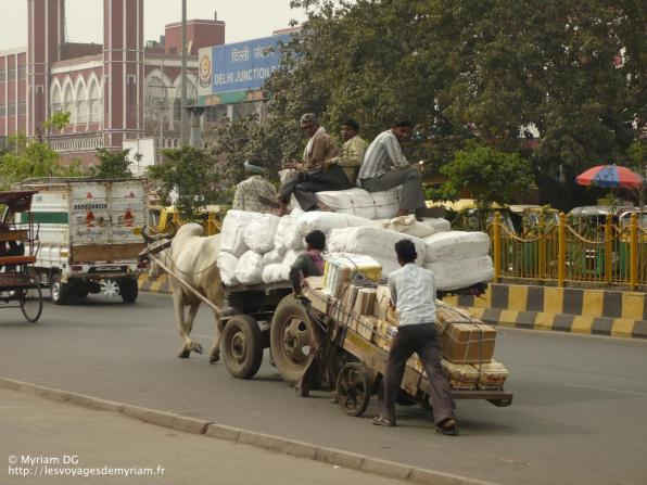 Les transports de marchandise ne se font pas tous en camion!