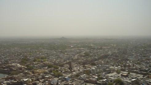 La ville depuis le fort