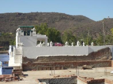 le toit de la nouvelle guesthouse