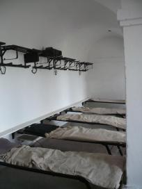 La chambre des soldats en faction