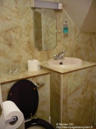Ma salle de bain (super kitch je trouve)