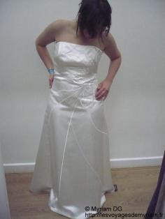Et même une robe de mariée!!!!