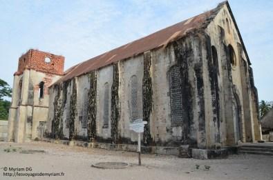 La première église de Casamance (certain disent même d Sénégal) construit pas les bretons.