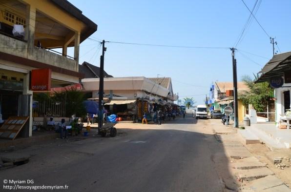 """Le quartier où on s'approvisionnait en clous, biscuits, matériel de bricolage, et au fond, la rue de """"notre"""" poissonnier!"""