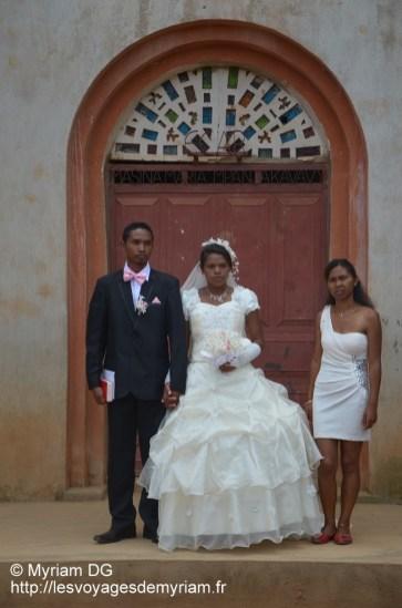 photo avec la sœur de la mariée