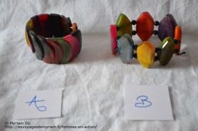 bracelet en corne de zébu coloré 7€ PLUS DISPONIBLE!
