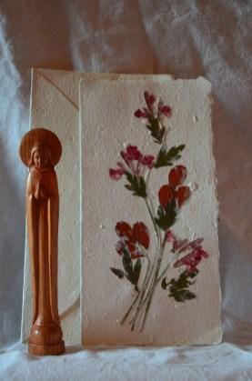 Offre Marie: (une seule disponible!) - 1 carte Antemoro - 1 vierge Marie 7€