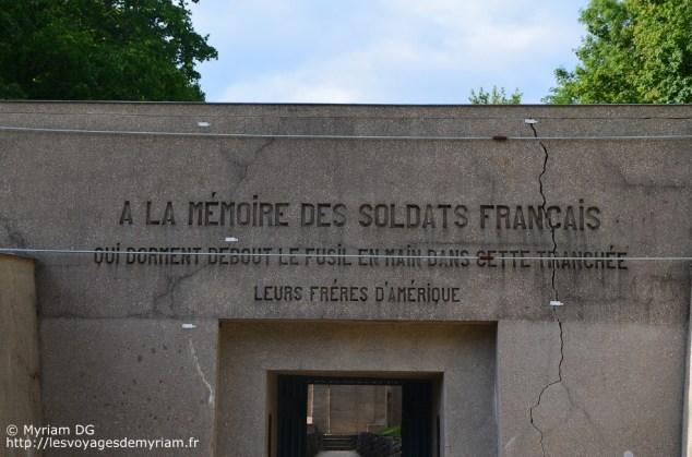 Le monument a quelques soucis de fondation, il doit être restauré.