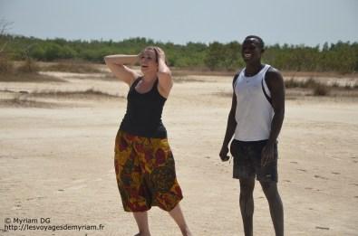 """Je crois qu'à ce moment là Abib devait dire """"Myriam, 20kg, contre Bidule, 240kg"""". Haha la blague!"""