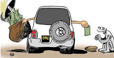 Les ONG, magouilles, dérives et loupés