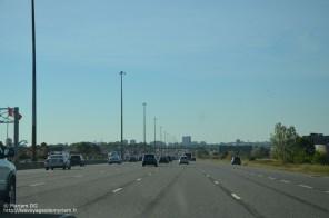 les routes à 6 voies