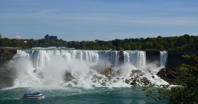 Les chutes du Niagara et le départ pour les USA