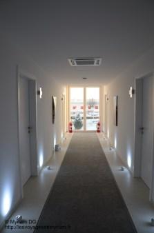 Les couloirs qui s'allument quand on passe (la classe!!)