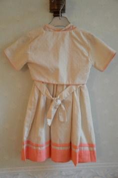 tenue de cérémonie, robe + boléro 20€