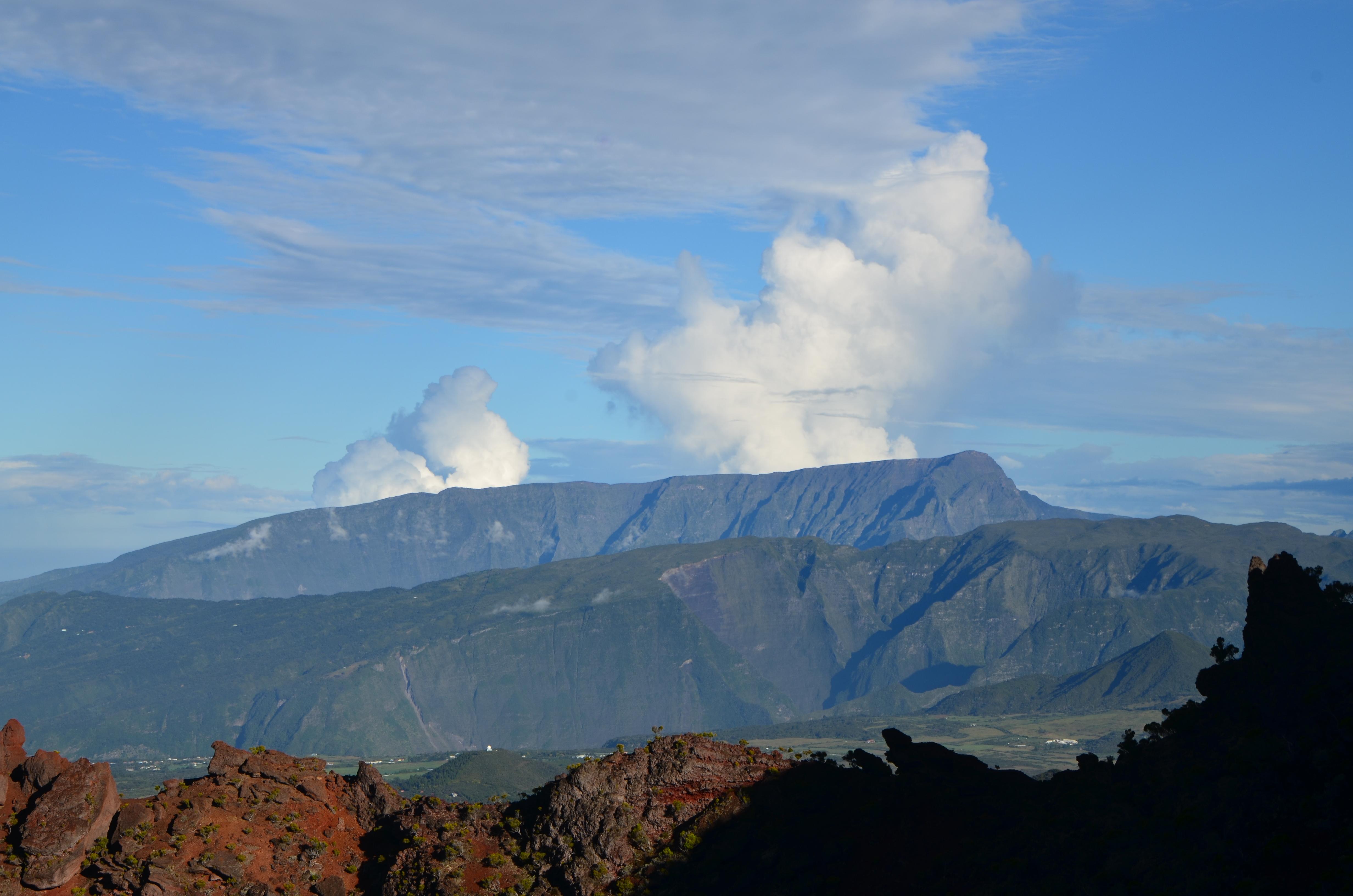 Cratère Cormesson à la Réunion.