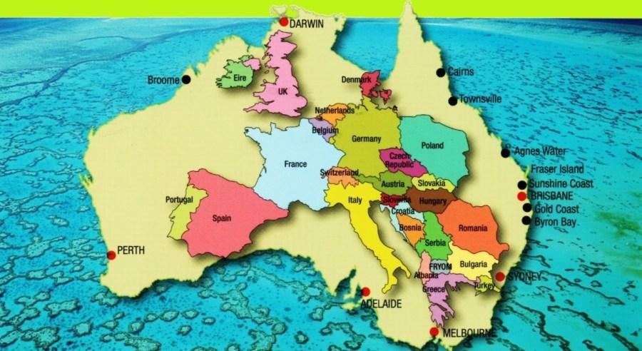 L'Europe dans l'Australie