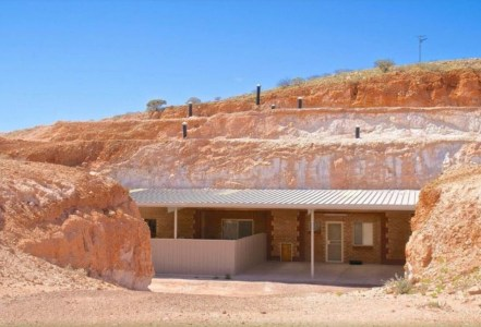 Maison troglodyte de Coober Pedy - Australie