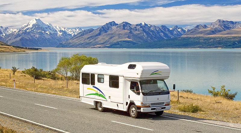 Le long des lacs Pukaki et Tekapo - NZ