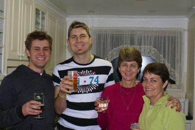 Dernière soirée avec Julie, Kent et Glynn