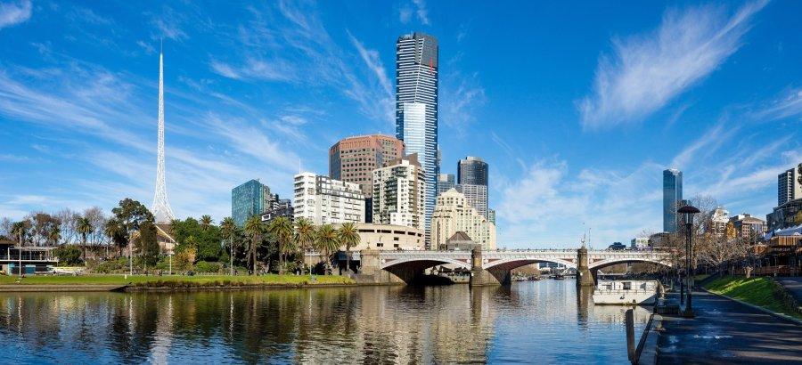 La tour Eureka Skydeck - Melbourne (Australie)