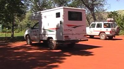 Arrêt déjeuner au Ellenbrae Camp - Kimberley (Australie)