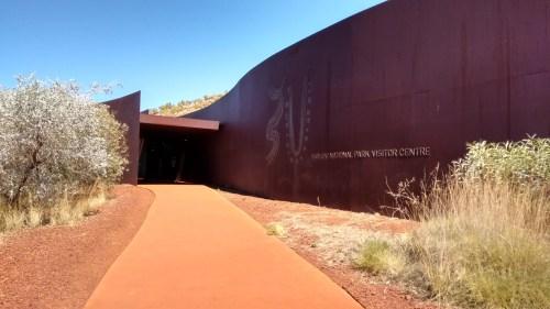 Le centre d'information du parc national de Karijini - Australie