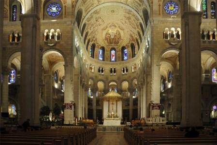 La basilique Ste Anne de Beaupré - Québec